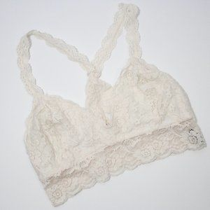 Youmita Lace Pullover Bralette Size Large